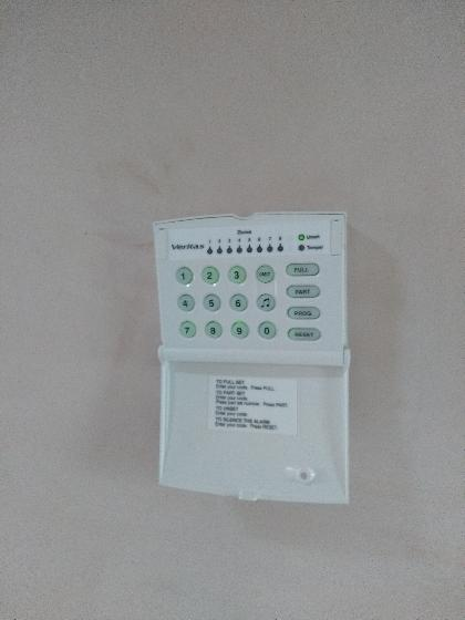 Wired Alarm keypad.